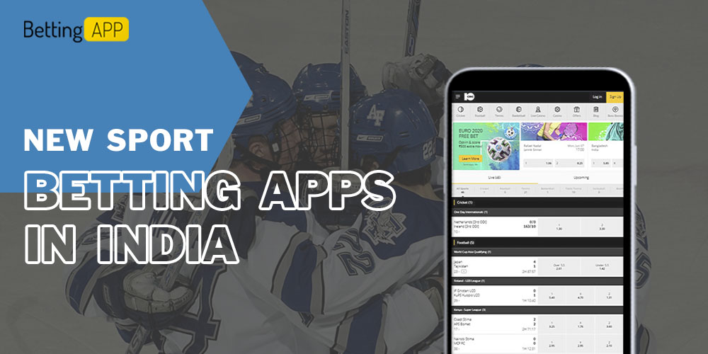 New sport betting apps in India