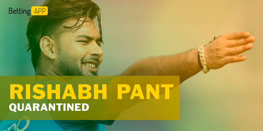 Rishabh Pant quarantined