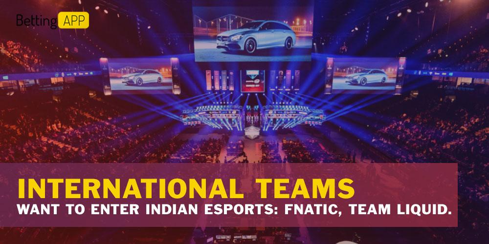 International Teams Want To Enter Indian Esports Fnatic, Team Liquid.
