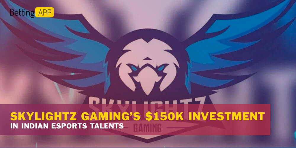 Skylightz Gaming's $150k investment in Indian esports talents