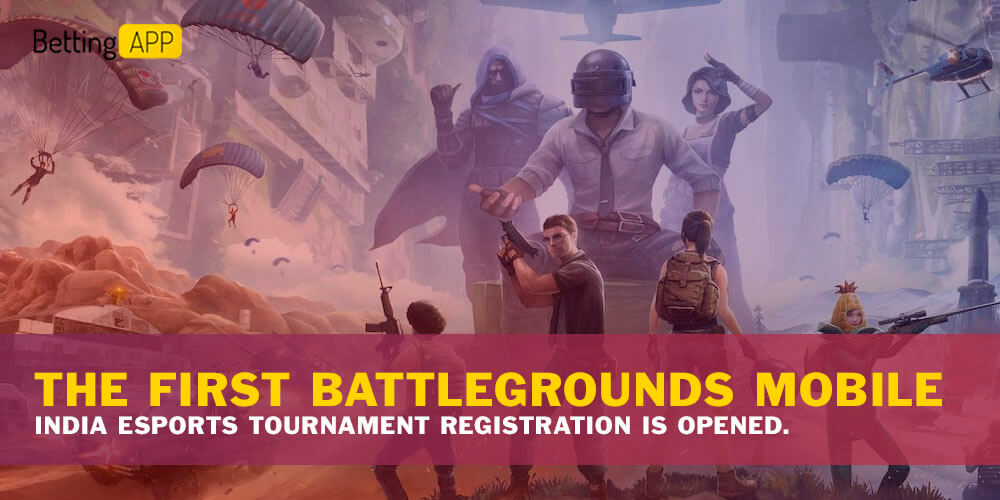 The First Battlegrounds Mobile India Esports Tournament Registration is Opened