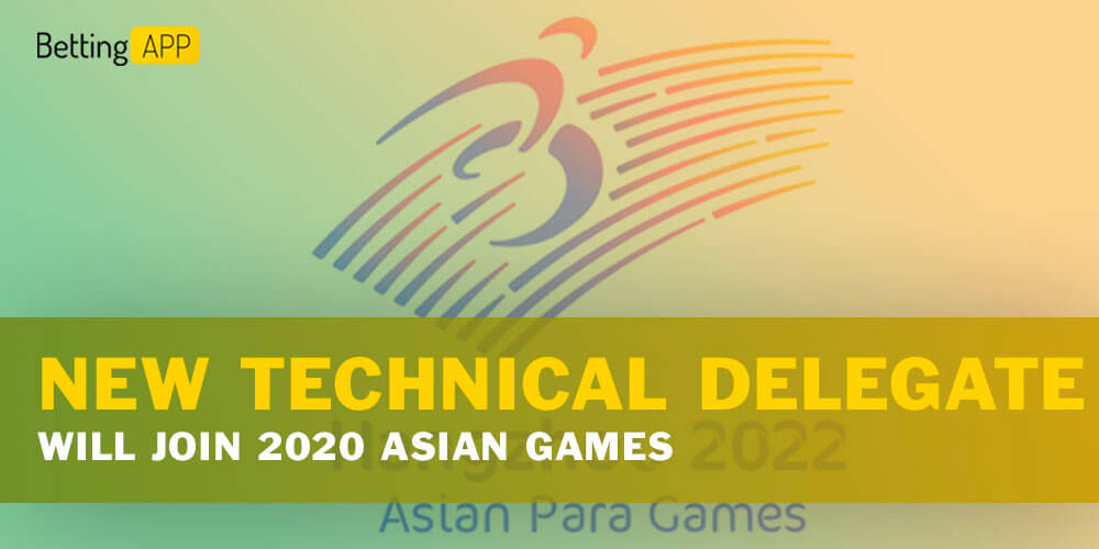 New Technical Delegate will join 2020 Asian Games