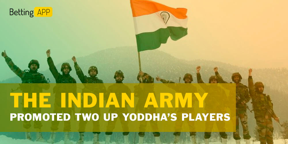 The Indian Army promoted two UP Yoddha's players to Naib Subedar rank