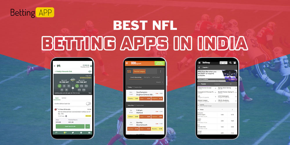 Best NFL betting apps in India