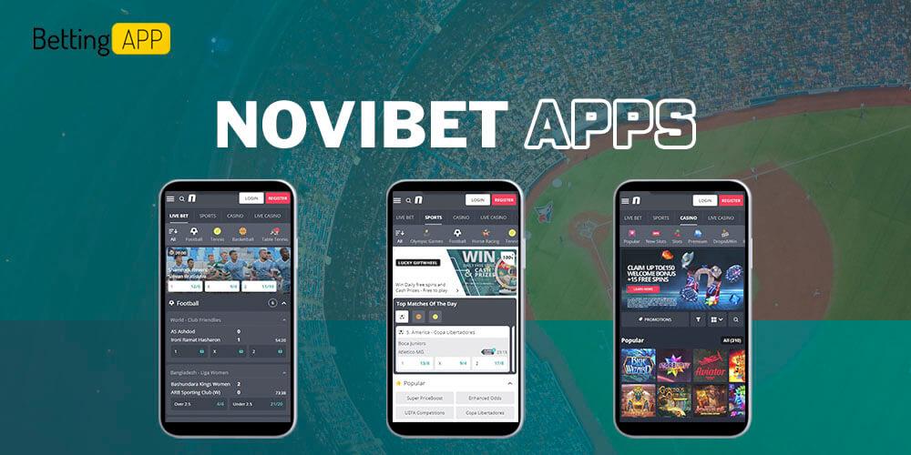 Novibet apps