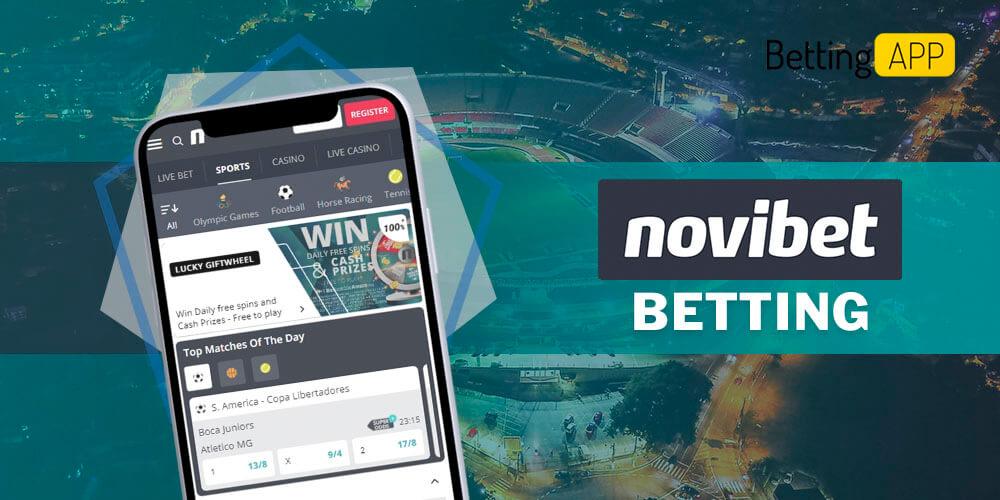 Novibet betting
