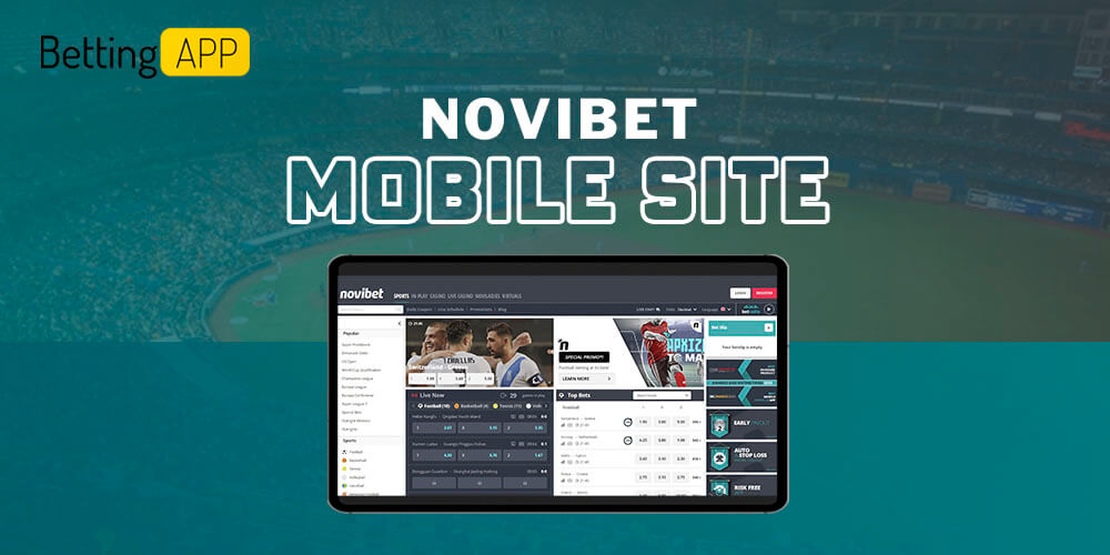 Novibet mobile site