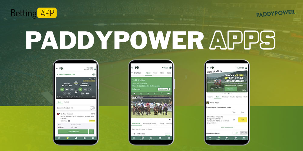 Paddy Power apps
