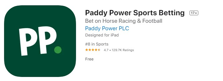 Paddy Power IOS Appstore