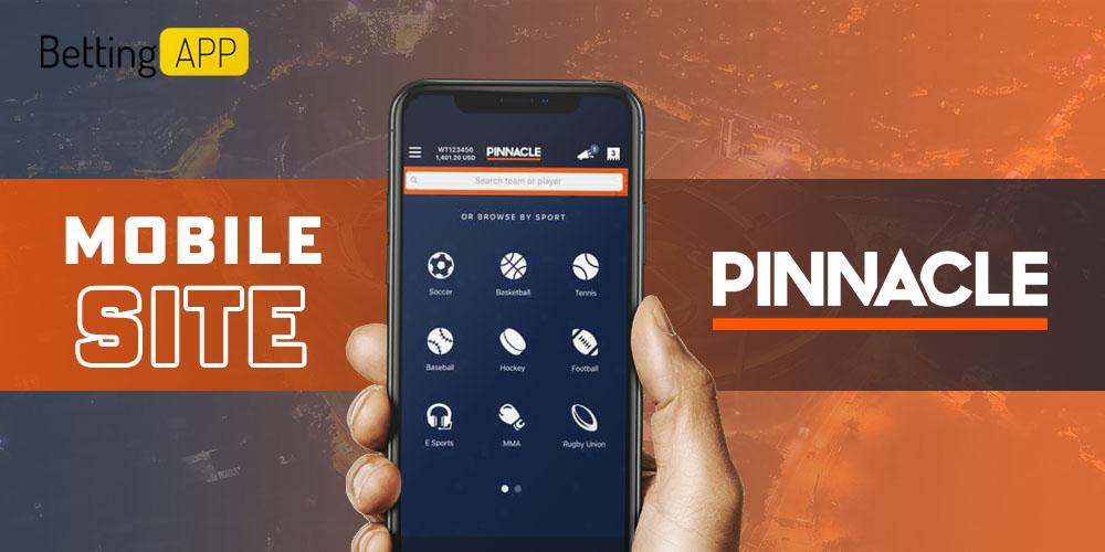 Pinnacle mobile site