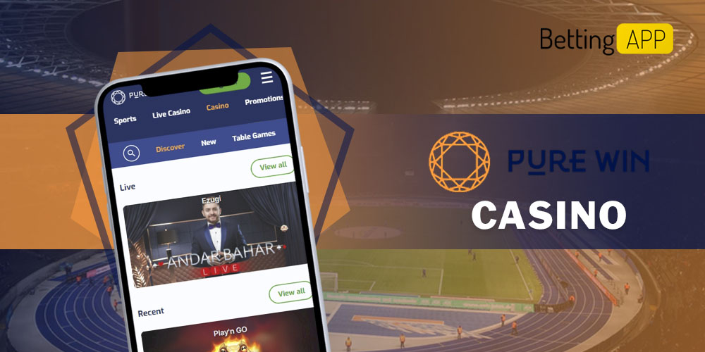 Purewin app casino