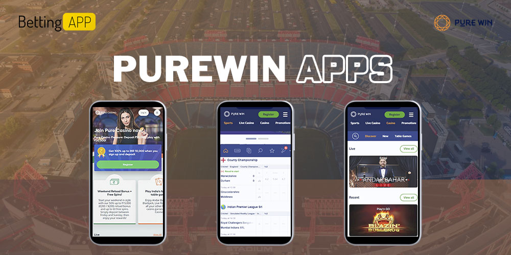 Purewin apps