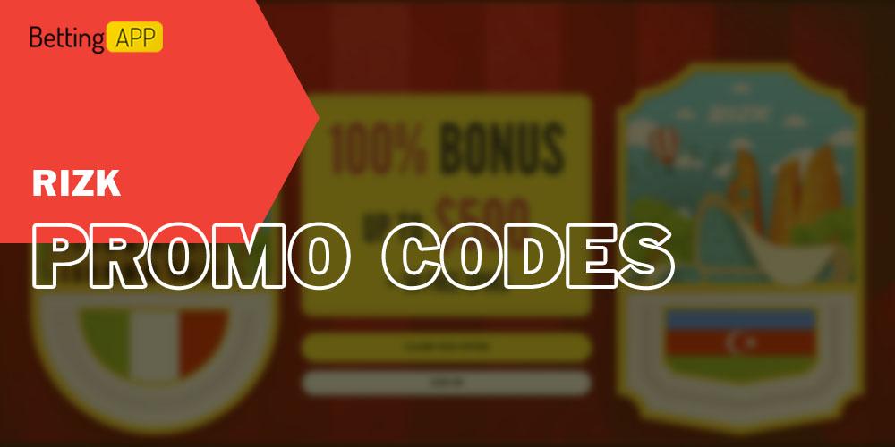Promo codes for Rizk