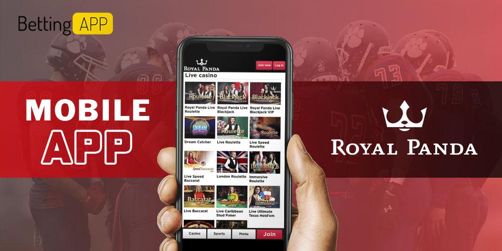 Royal Panda mobile app