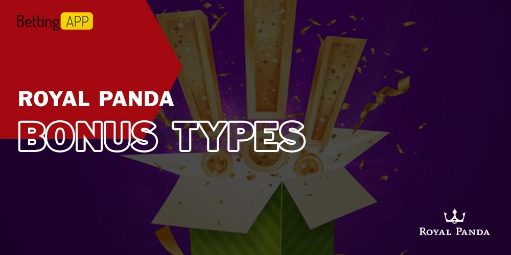 Royal Panda bonus types