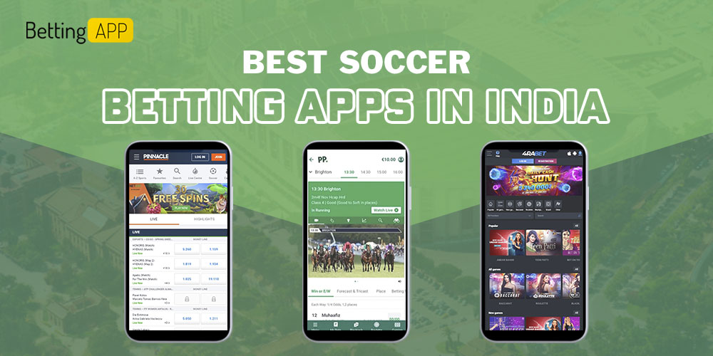 Best Soccer betting apps in India