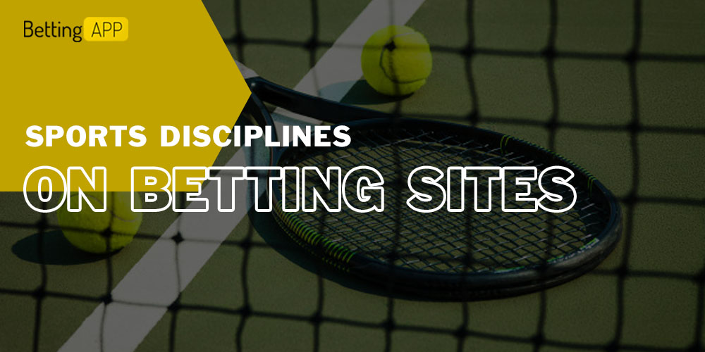 Sports disciplines on betting sites