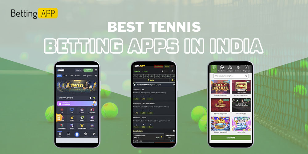Best Tennis betting apps in India