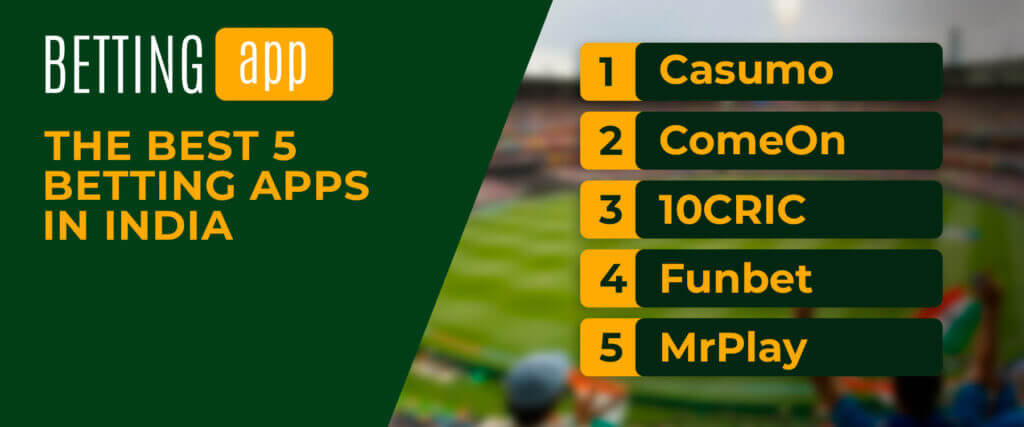 best 5 betting apps in India