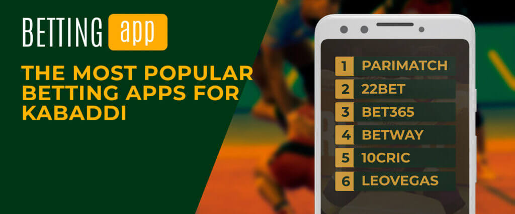 most popular betting apps for kabaddi