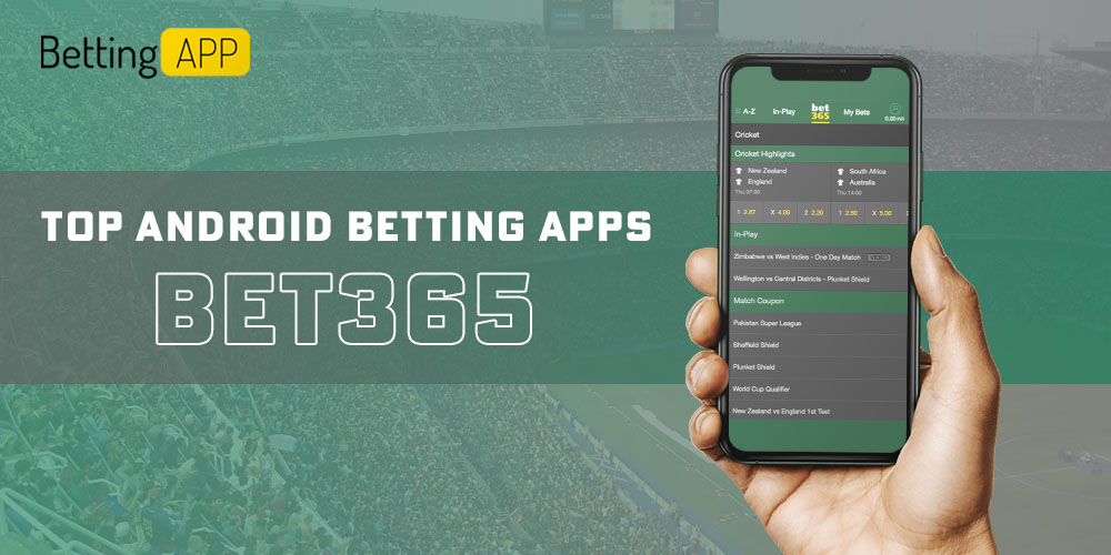 Popular Android betting app bet365