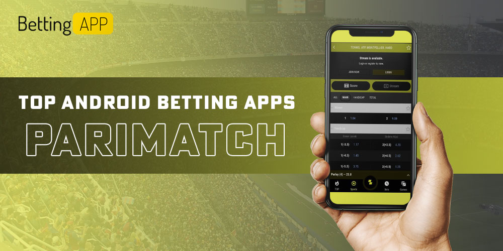 Popular Android betting app Parimatch