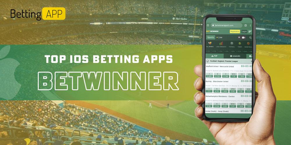 top ios apps betwinner
