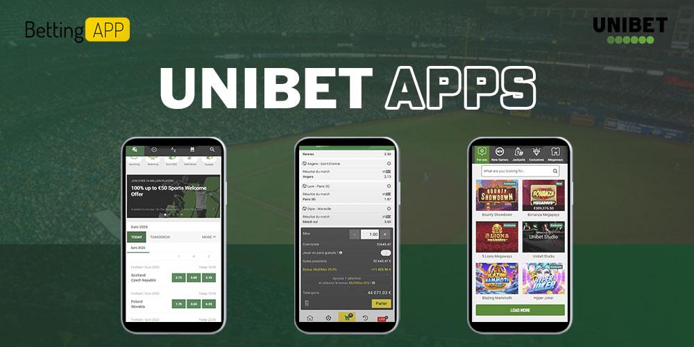 Unibet apps