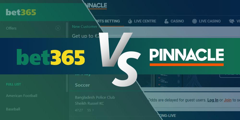 Bet365 vs Pinnacle
