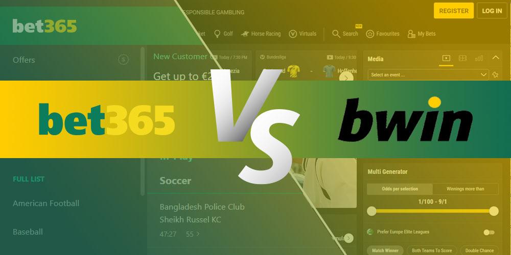 Bet365 vs Bwin
