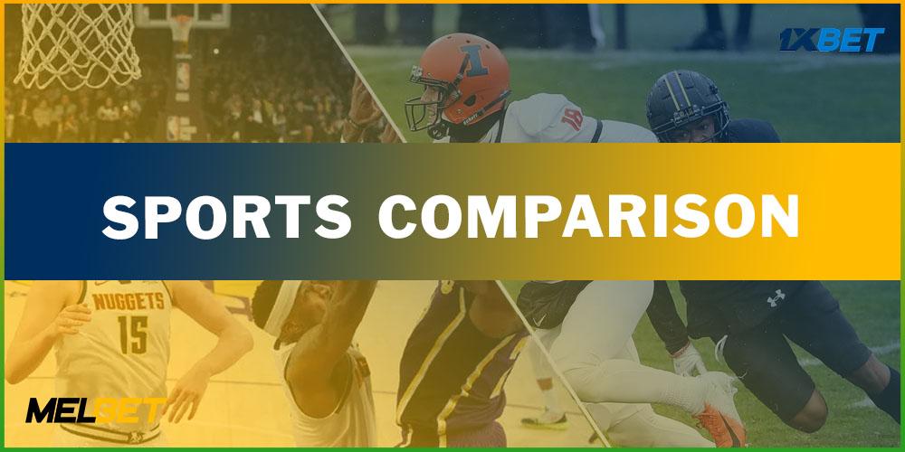 Sports comparison