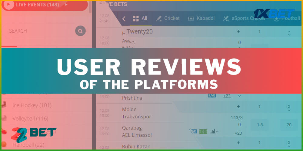 User Reviews of the Platforms