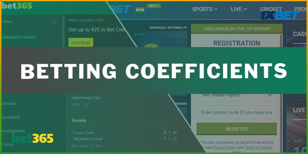 Betting Coefficients