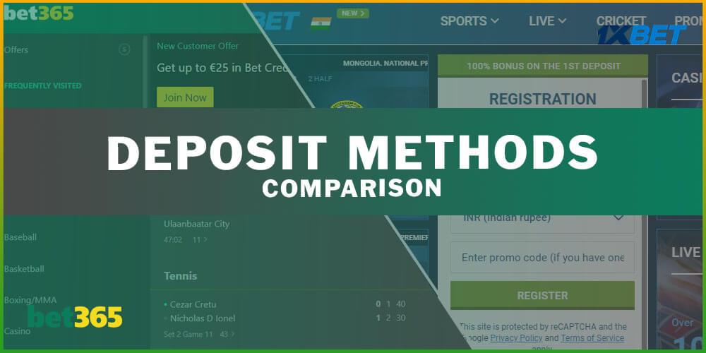 Deposit Methods Comparison