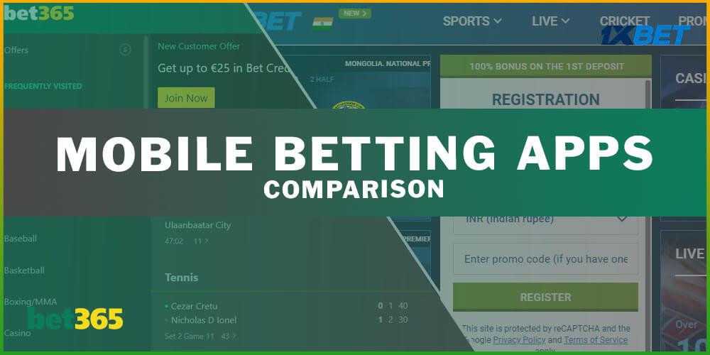 Mobile Betting Apps Comparison