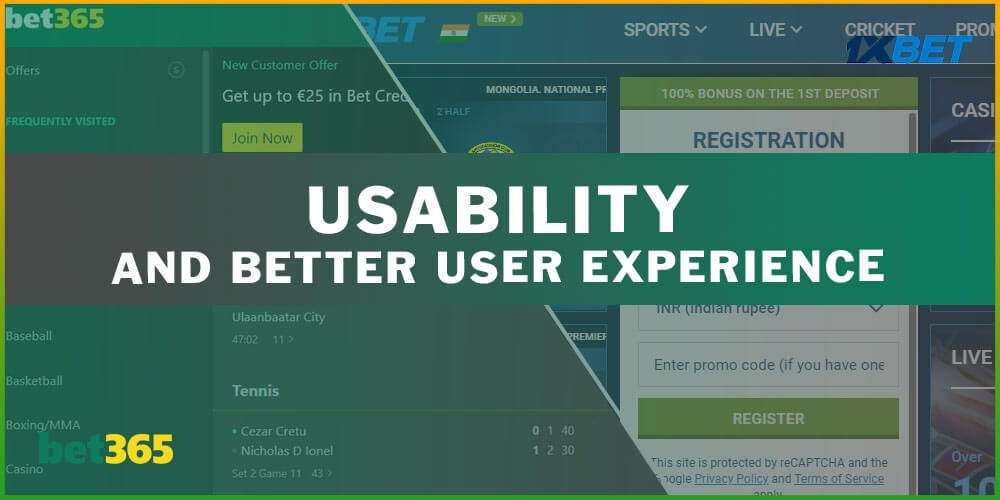 Usability and Better User Experience