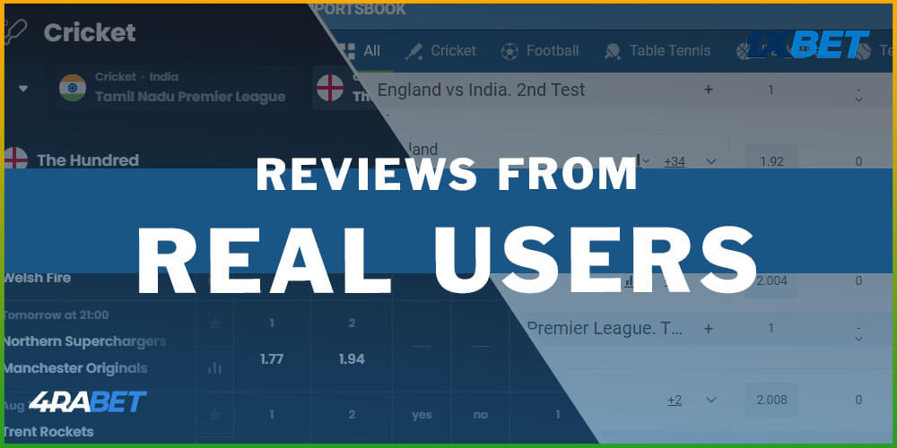 Reviews From Real Users