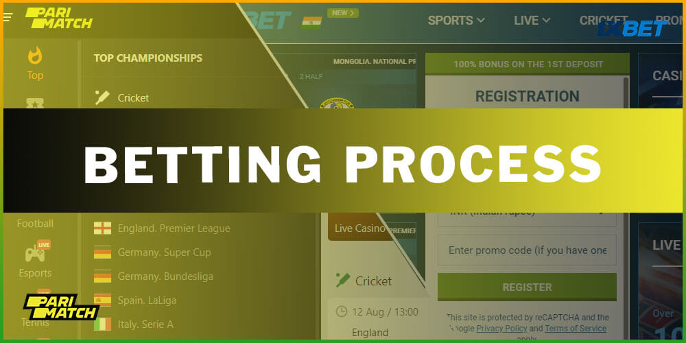 Betting Process