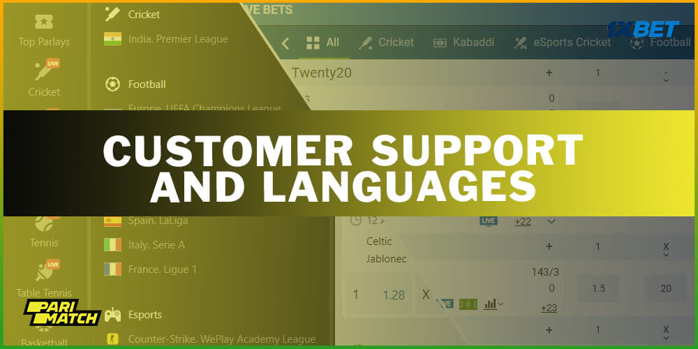 Customer Support And Languages