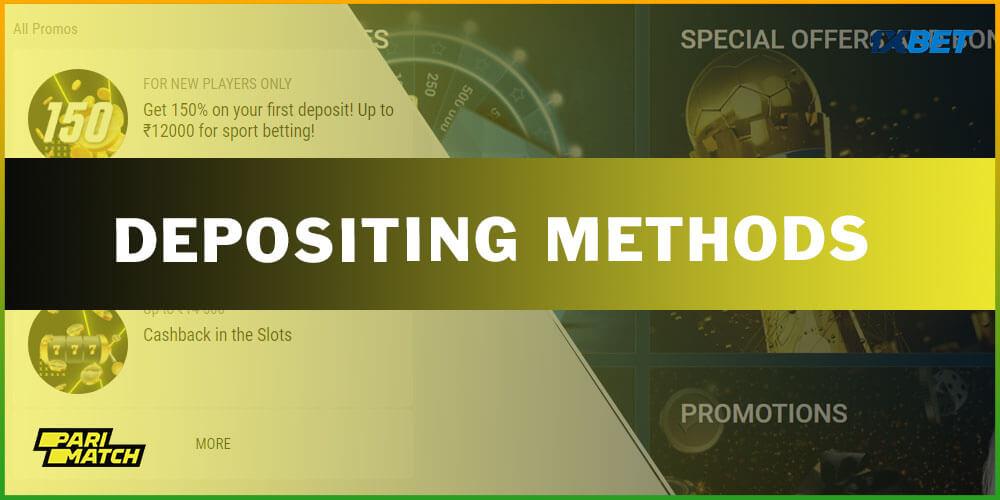 Depositing Methods