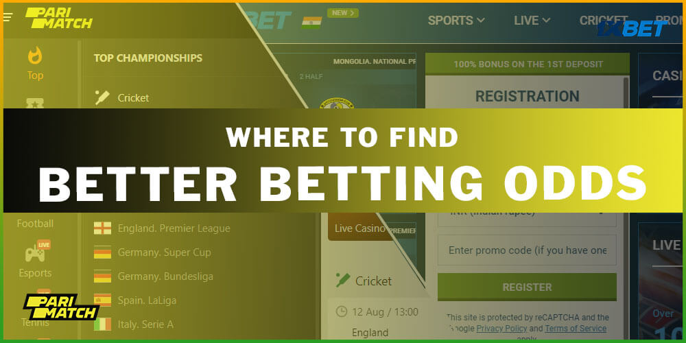 Where To Find Better Betting Odds