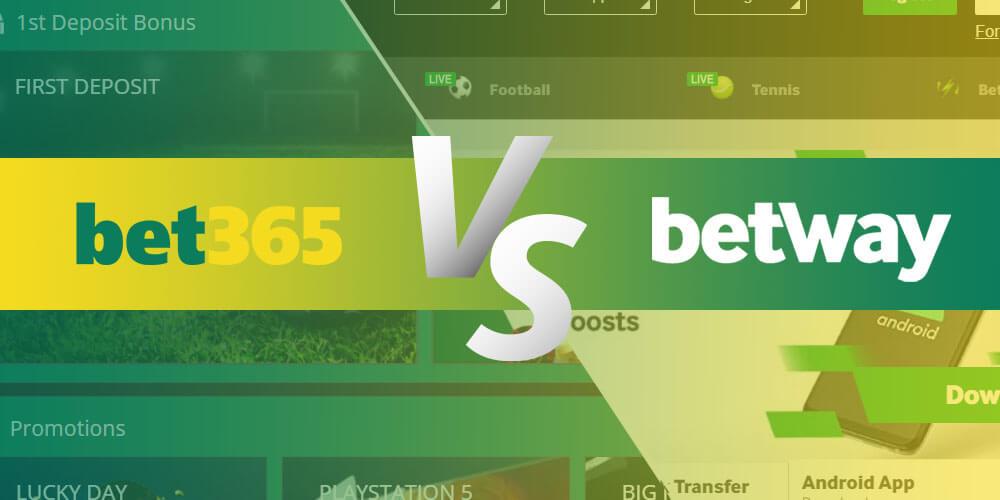 Betway vs Bet365