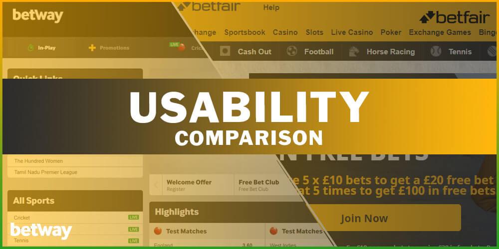Usability Comparison
