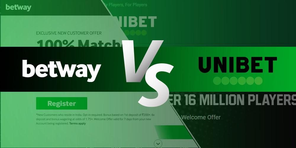 Betway vs. Unibet